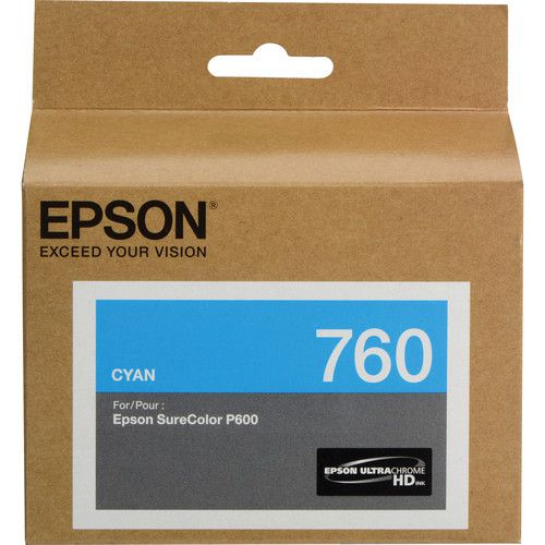 Cartucho de Tinta Epson T760 UltraChrome HD (26mL)