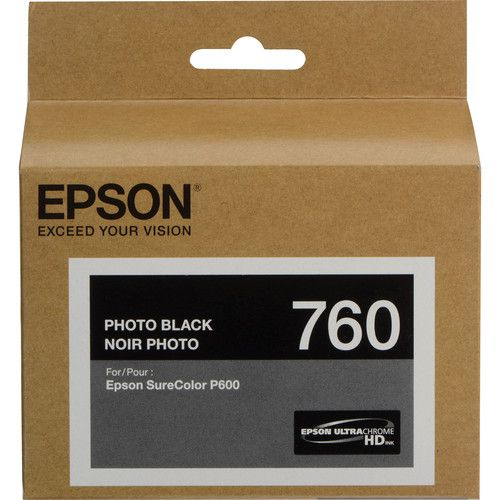 Cartucho de Tinta Epson T760XXX UltraChrome HD (26mL)