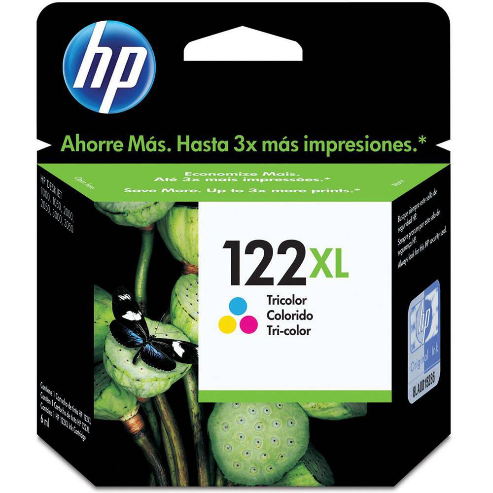 Cartucho de tinta HP 122XL Original