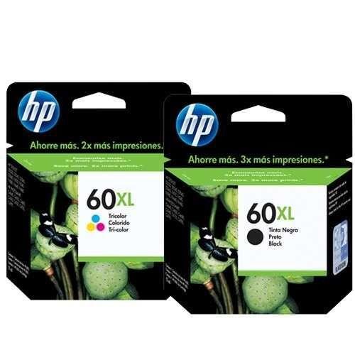 Cartucho de tinta HP 60XL Original