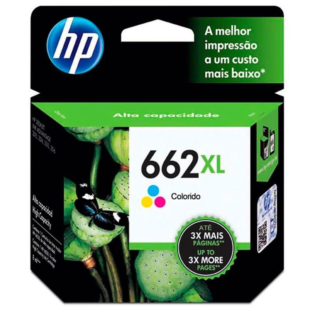 Cartucho de Tinta HP 662XL Original