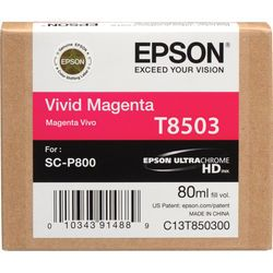 Epson - Cartucho de Tinta T850XXX ULTRACHROME HD  80ML Para Impressora P800