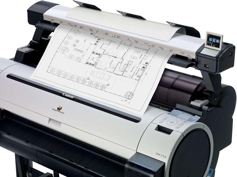 Plotter Canon imagePROGRAF IPF770 MFP L36 - Incluso treinamento remoto