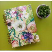 Agenda Floral Rústico