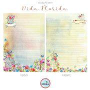MIOLO VIDA FLORIDA - 90 folhas