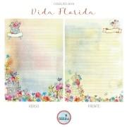 MIOLO VIDA FLORIDA - 185 FOLHAS