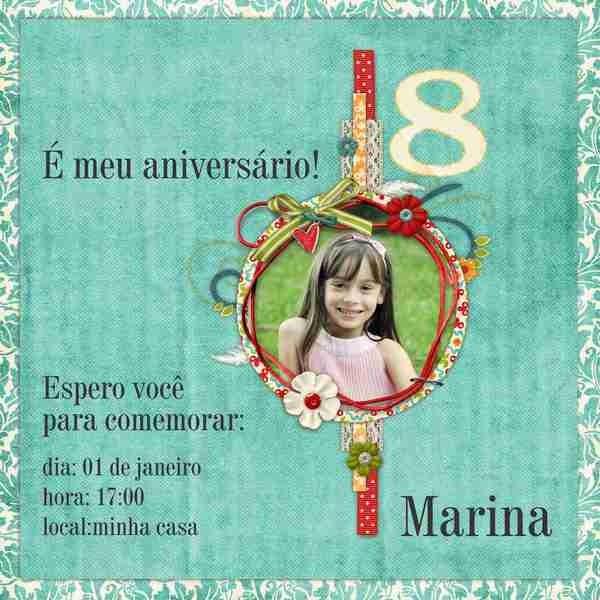 Convite Primavera