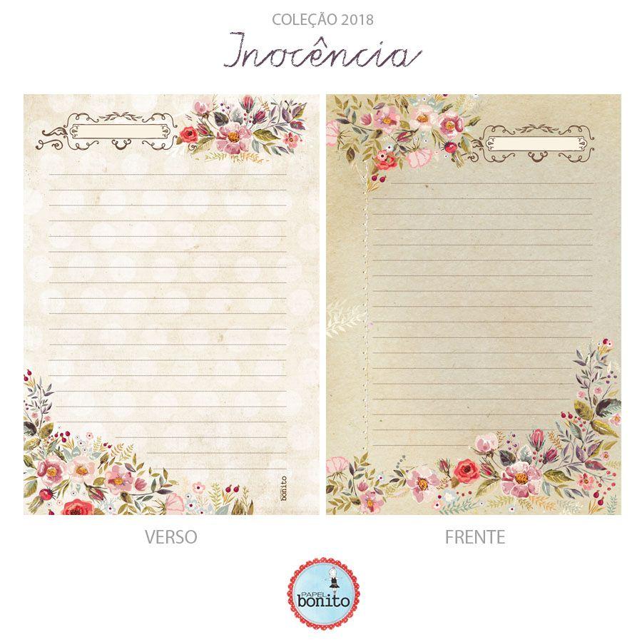 Caderno Inocência