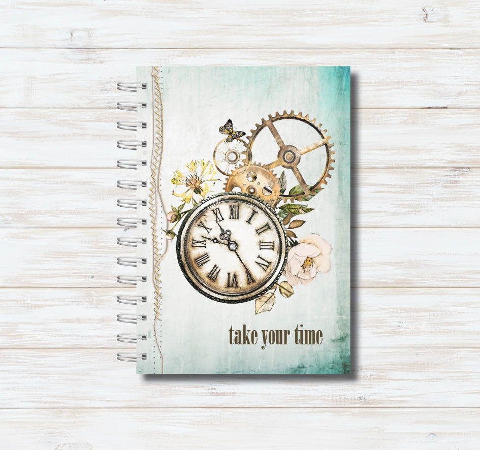 Caderno Take Your Time