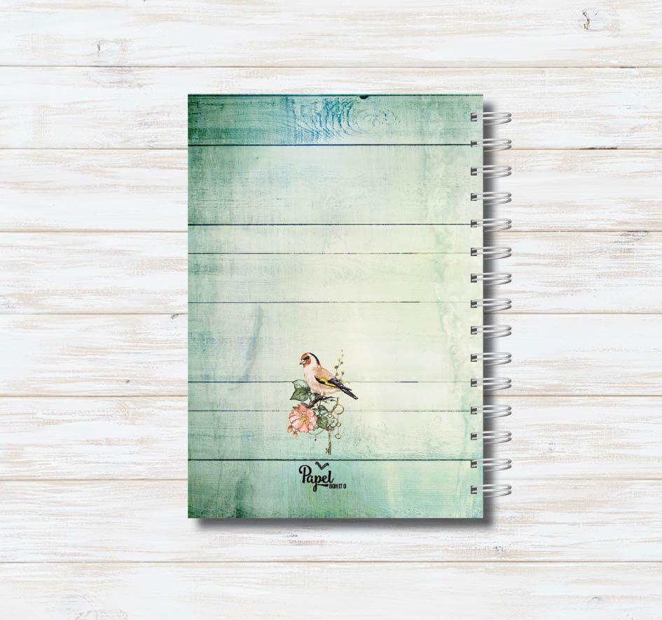 Caderno Take Your Time (azul)