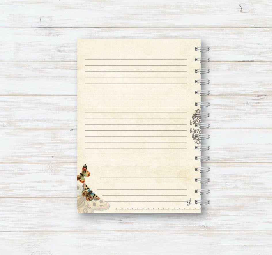 Caderno Tom Natural IV