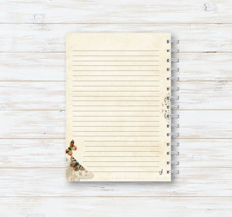 Caderno Tom Natural VI