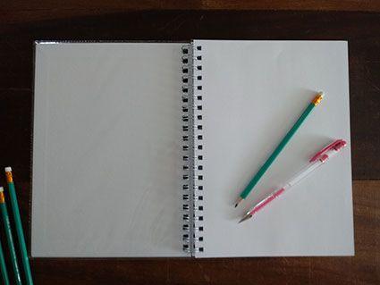 Caderno universitário