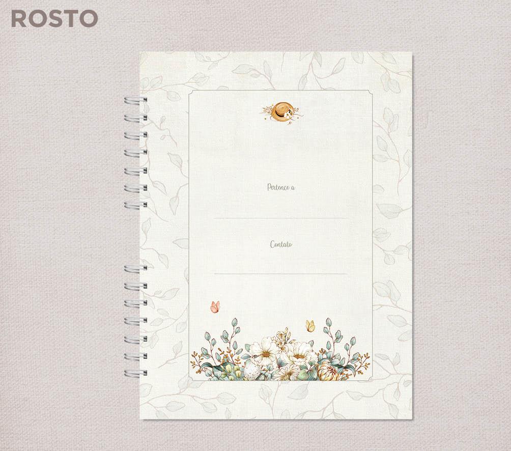Caderno universitário Bosque