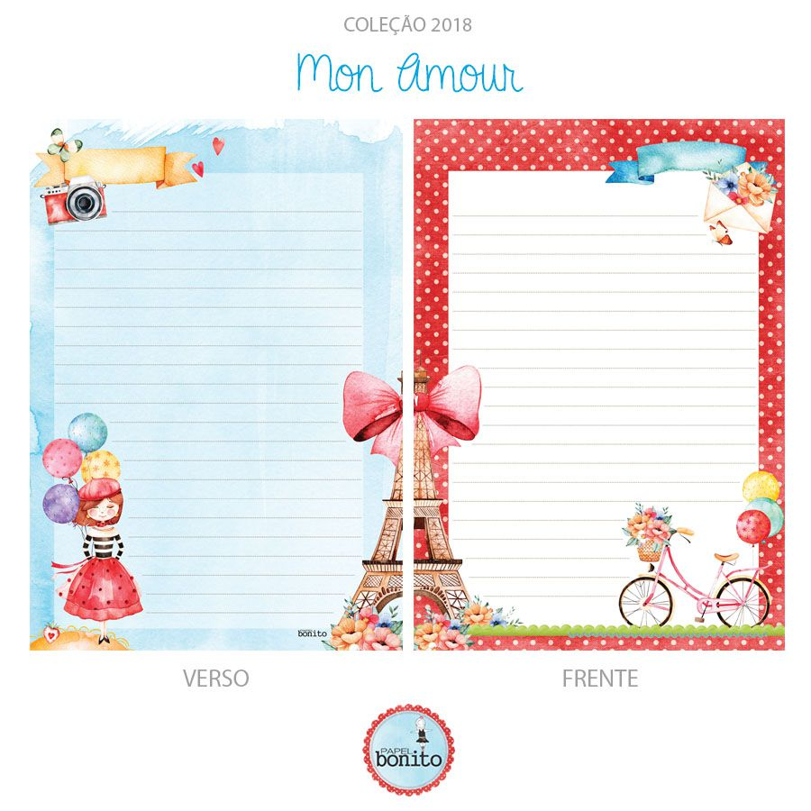 Caderno Mon Amour