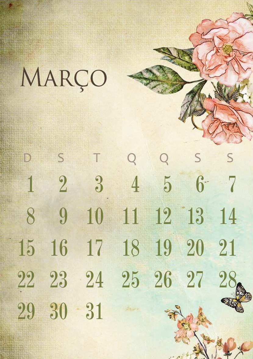 Calendário 2020 . Beautiful To Me