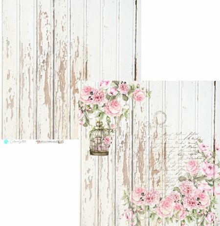 Coleção de papéis Flower Market - 8 folhas