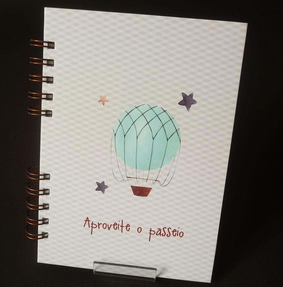 Caderno Diário do Bebê