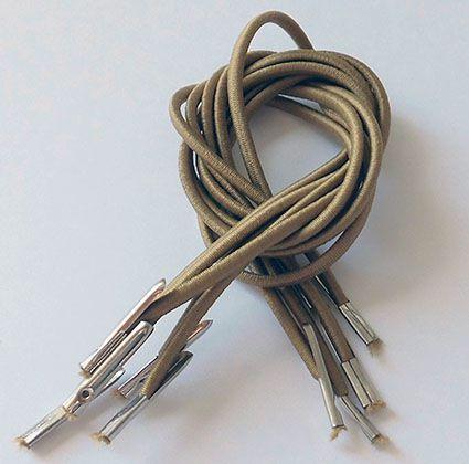 Kit elástico com ponteira - 30 cm