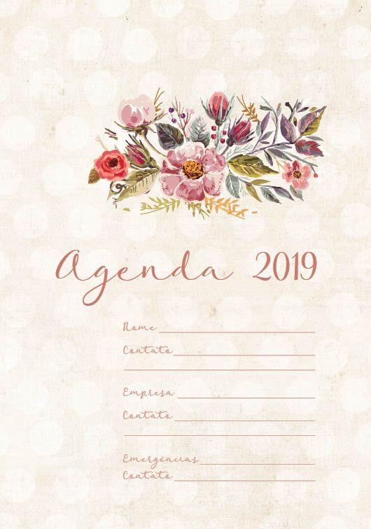 Folha de rosto Agenda 2019 . INOCÊNCIA