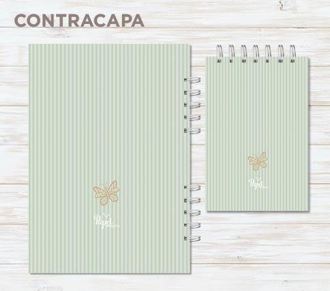 Conjunto caderno + bloco Coisas Boas - Enluarada