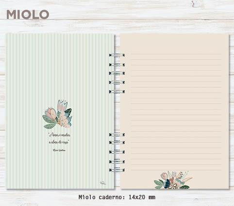 Kit caderno + bloco Mil Coisas