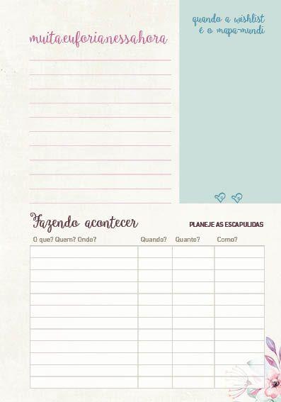 Kit de organização - Páginas Iniciais