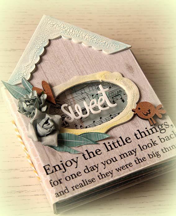 Mini Álbum Sweet Home