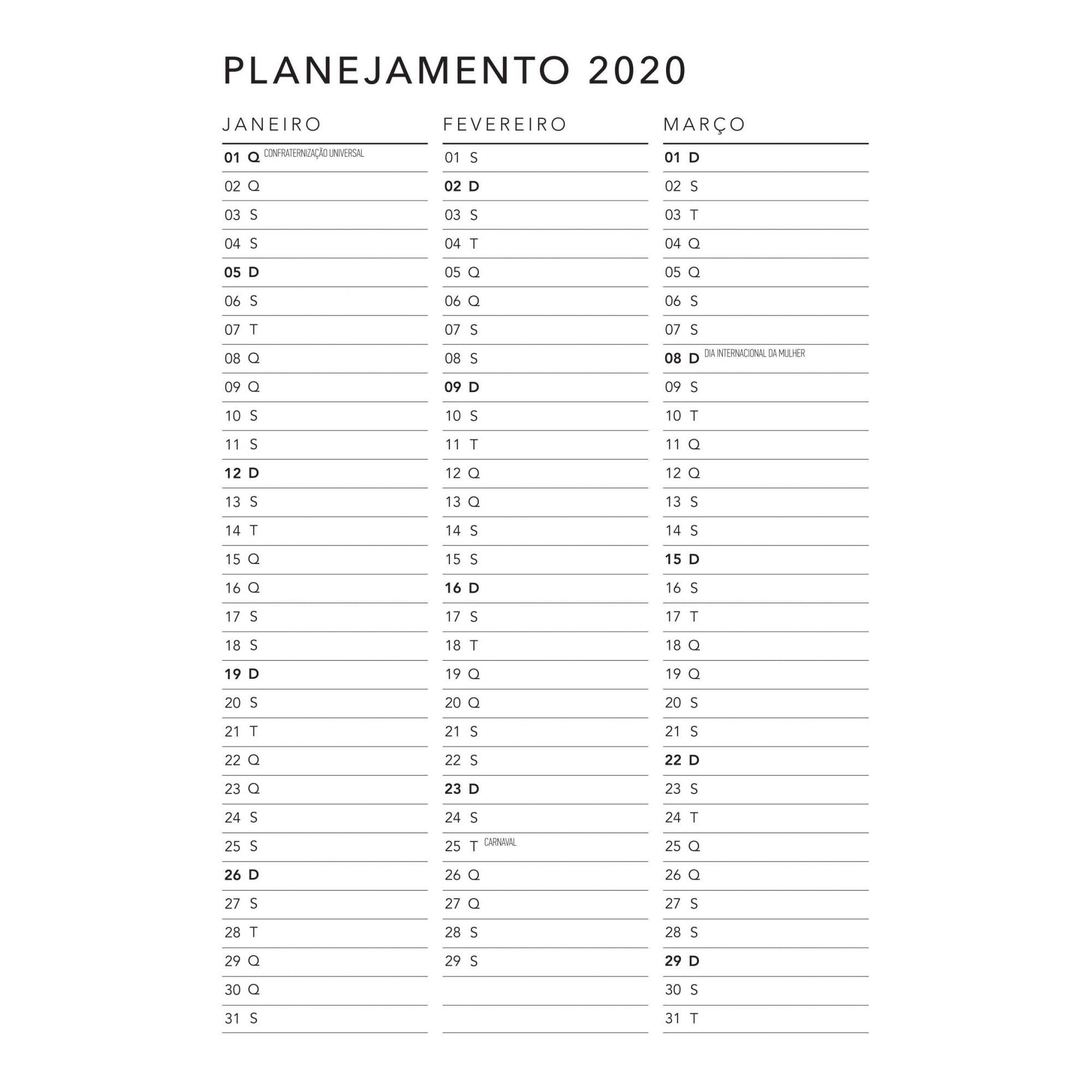 MIOLO AGENDA 2020
