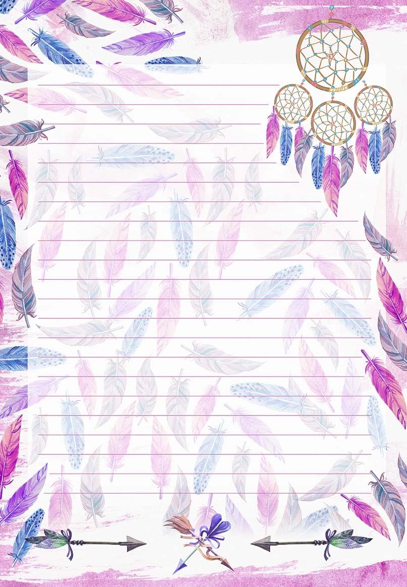 Refil Filtro dos Sonhos COSTURADO 75 folhas