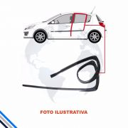 Canaleta Traseira Esquerda Ford Fiesta Hatch/Sedan 2002-2014