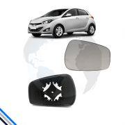 Lente Retrovisor Ext Dir Hyundai Hb20 2012-2016