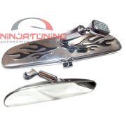 Espelho Retrovisor Interno P/ Hot Rods , Opala . Fusca e Pick-ups