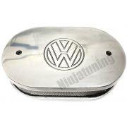 Filtro de ar Oval Marmita p/ Carburador - MINIPROGRESSIVO