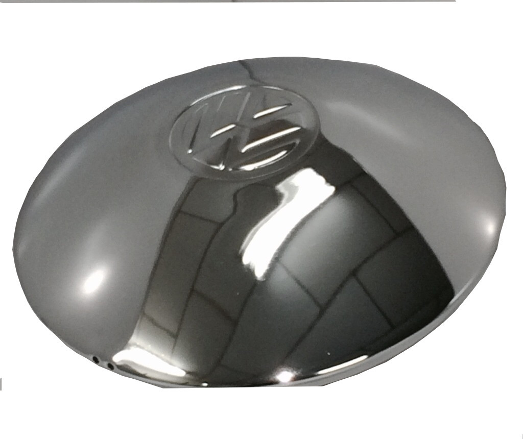 Kit 4 calotas Cromada para Fusca Roda 5 furos