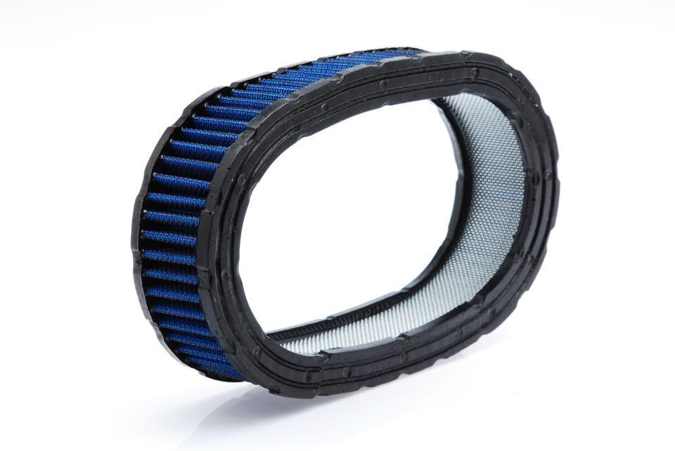 Elemento Filtrante para Filtro de Ar Oval - Azul
