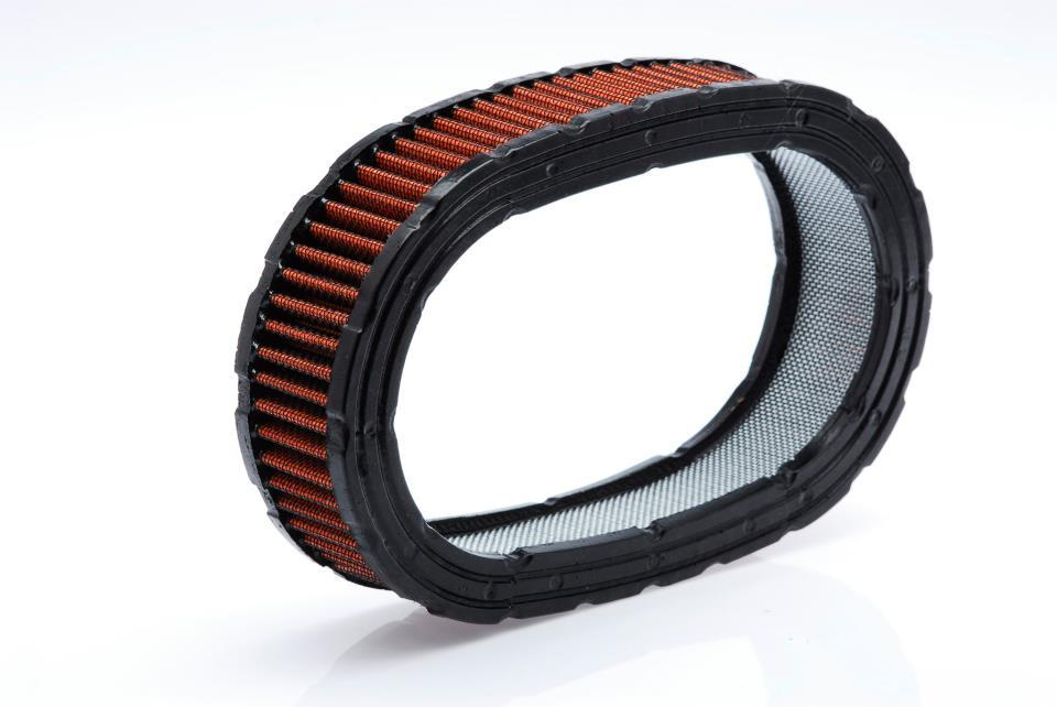 Elemento Filtrante para Filtro de Ar Oval ( Vermelho )