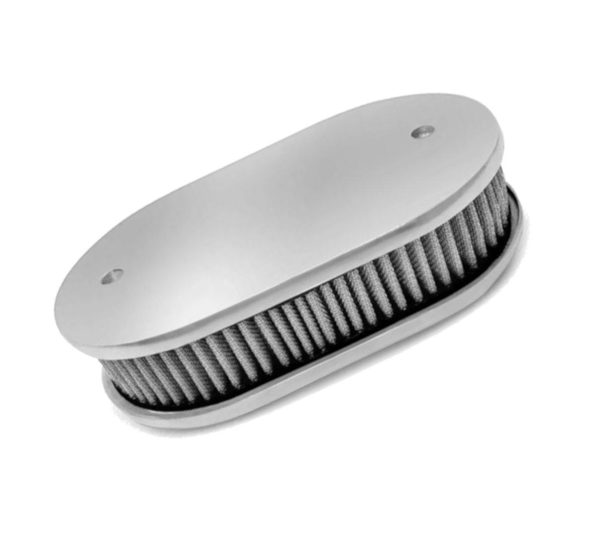 Filtro de ar Oval Marmita p/ Carburador - TLDZ