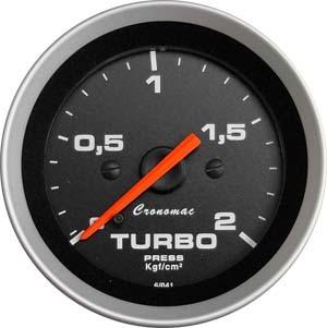 Manômetro pra turbo 52mm Cronomac Sport 2 kg
