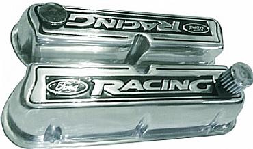Tampa de Valvulas Em Aluminio Motor V8 302 - Ford Racing ( PAR )