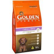 Ração Golden Carne & Arroz Cães Pequenos Filhotes 10.1