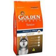 Ração Golden Fórmula Senior para Cães Adultos Sabor Frango e Arroz 15 k