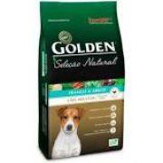 Ração Golden Seleção Natural Frango e Arroz Cães Porte Pequeno 10.1K