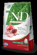 Ração N&D Grain Free Frango e Româ Maxi Breads 10.1
