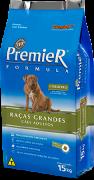 Ração Premier Formula para cães adutos cordeiro 15 k