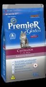 Ração Premier Gatos Ambientes Internos Castrados Frango 7 a 12 anos 7.5kg