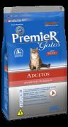 Ração Premier Gatos Ambientes internos Salmão Adulto 7.5kg