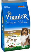 Ração Premier Seleção Natural para cães adultos 12 k