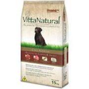 Ração Vitta natural para câes Adultos Carne 15 k