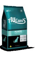 Ração Allcanis Carne, Arroz e Frango 15 kg Filhotes